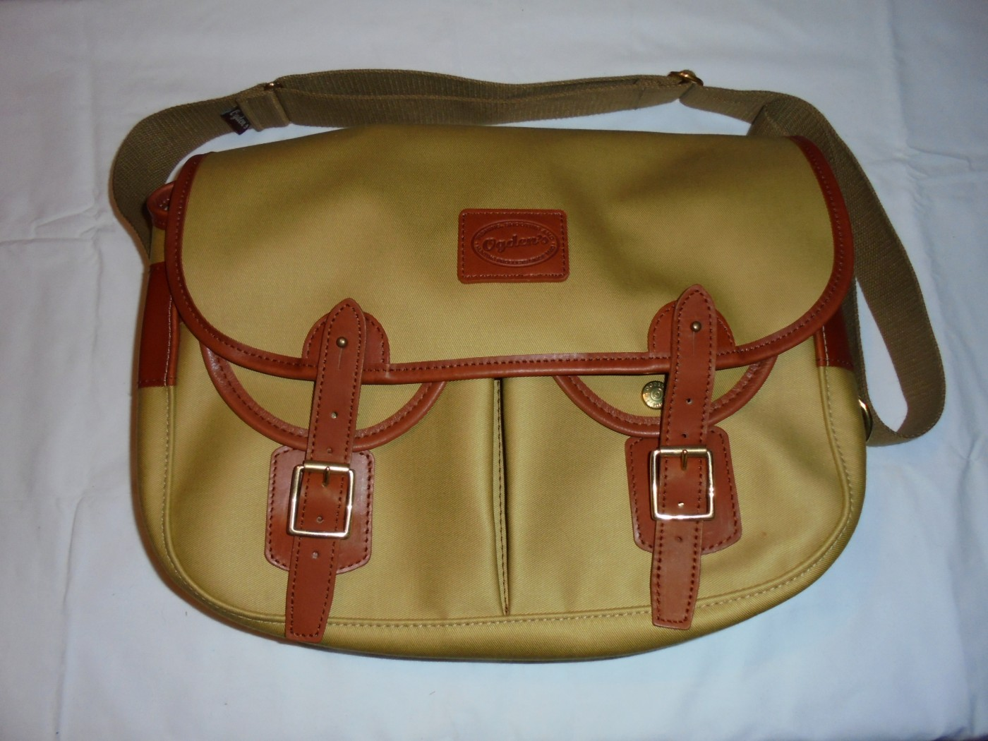 Leather and Canvas Midi Game Bag Plas Country Pursuits